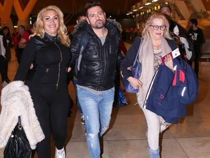 Raquel Mosquera, Fernando Marcos y Mayte Zaldívar