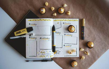 El método del Bullet Journal y los bombones son estrategias para dejar de procrastinar.