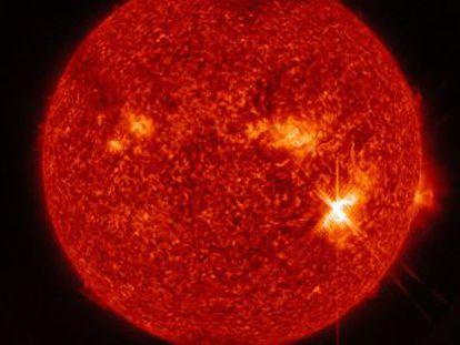 Las erupciones solares podrían afectar a los satélites y GPS