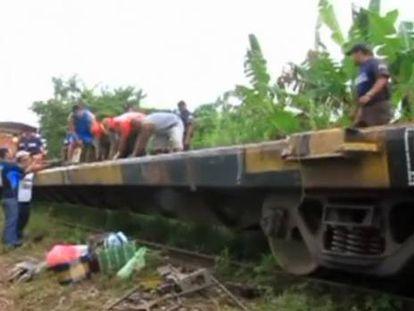 Al menos seis muertos al descarrilar el tren de emigrantes 'La Bestia' en México