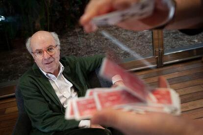 Jordi Camí, director del Parque de Investigación Biomédica de Barcelona, durante la presentación del libro 'El cerebro ilusionista'.