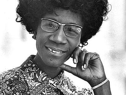 Shirley Chisholm.