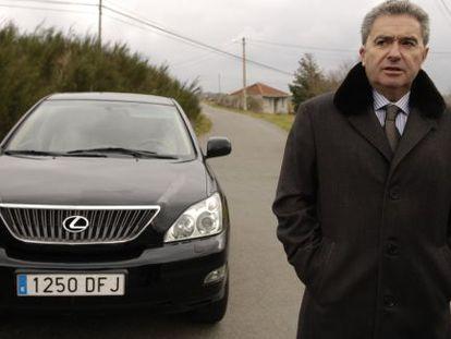 José Luis Gavilanes, alcalde de Xunqueira de Ambía y transportista