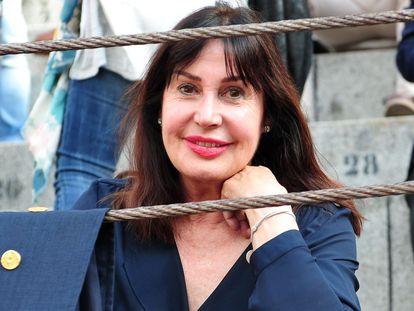 Carmen Martínez Bordiú, en Las Ventas de Madrid en 2018.
