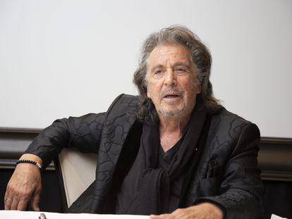 Al Pacino, el 19 de febrero en la presentación de 'Hunters' en Beverly Hills.