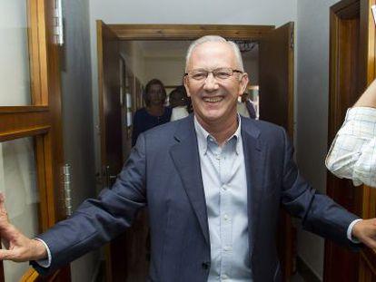 Juan Martín Serón, tras conocer en 2013 la sentencia del Supremo.