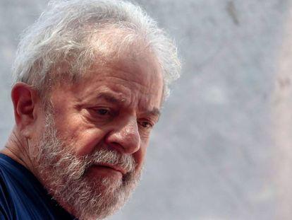 El expresidente Luiz Inacio Lula da Silva en una fotografía de abril de 2018.