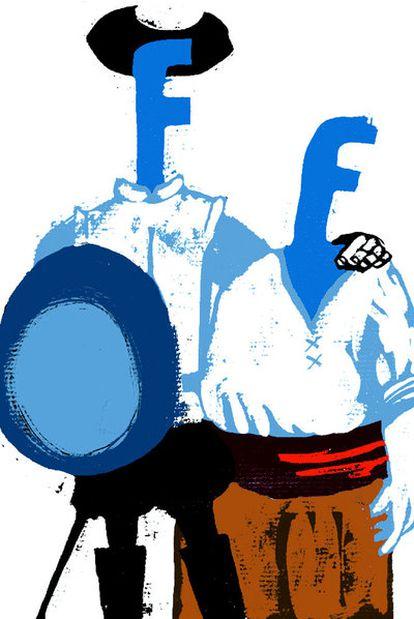 Ilustración de Enrique Flores