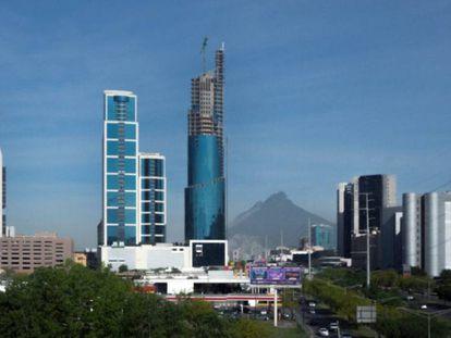 Vista de San Pedro Garza, en Nuevo León, una de las regiones con mayor movilidad social.
