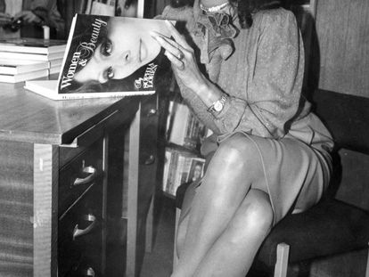 Sofía Loren, en una librería de Manchester en 2010.