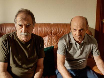 Ramón Barea y Ramón Agirre, protagonistas del capítulo 'El vecino', de la serie 'Gente hablando'.