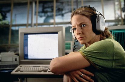 Jodie Foster en la película 'Contact' (1997), de Robert Zemeckis.