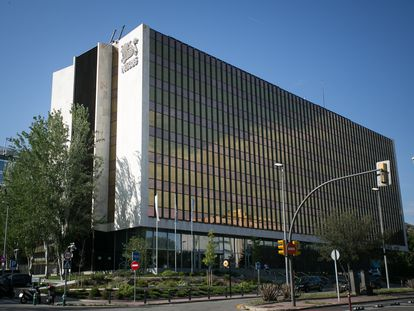 La sede central de Nestlé en España, situada en Esplugues de Llobregat (Barcelona).