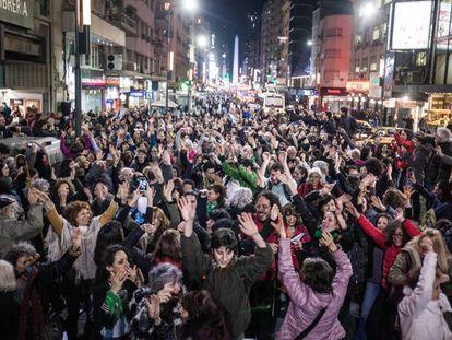 Flashmob realizado en Buenos Aires.