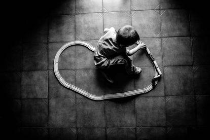 Una imagen de la serie realizada por Mingo Venero para Save the Children sobre pobreza infantil en España.
