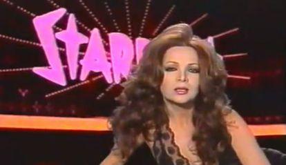 Sara Montiel, en el videoclip de la canción 'Touch me'.