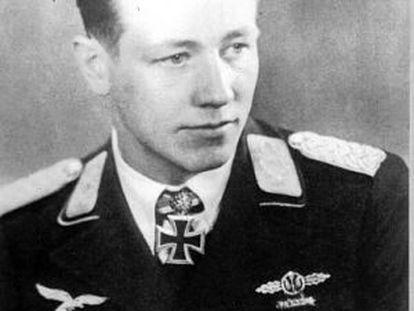 El piloto alemán Martin Drewes.