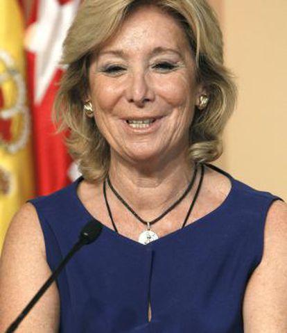 Aguirre, durante una rueda de prensa posterior al Consejo de Gobierno.