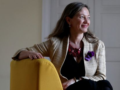 Victoria Rosell, delegada del Gobierno contra la Violencia de Género, en el Ministerio de Igualdad.