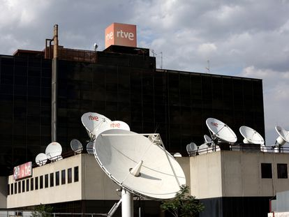 Torrespaña, sede de los Servicios Informativos de TVE.