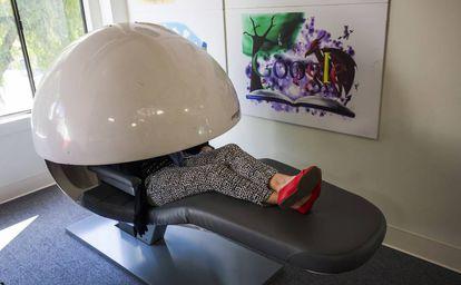 Empresas como Google ponen a disposición de sus empleados estructuras-cama para la siesta.