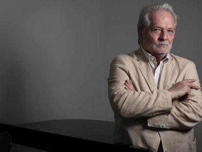 El compositor y director de orquesta húngaro Péter Eötvös, en septiembre de 2019 en la Escuela de Música Reina Sofia, Madrid.