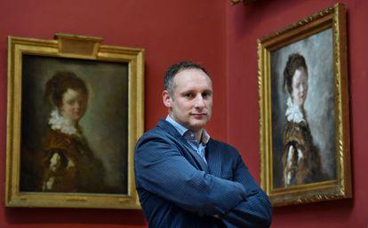 Xavier Bray, comisario de la exposición sobre Goya en Londres.