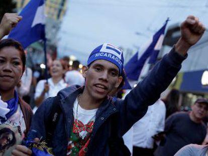 Tras la ola de terror desatada por el presidente en el país centroamericano, decenas de miles de nicaragüenses marcharon para exigir su salida del poder