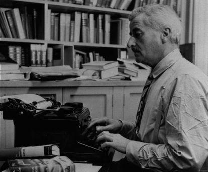 El escritor estadounidense William Faulkner (1897-1962).