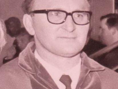 El teólogo Johann Baptist Metz, en 1971.