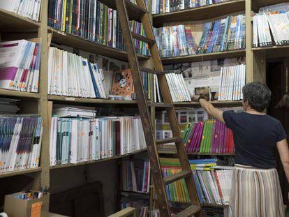 Librería Fortuna en la calle de los Libreros en Madrid.