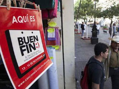 El Buen Fin se celebra en México del 18 al 21 de noviembre.