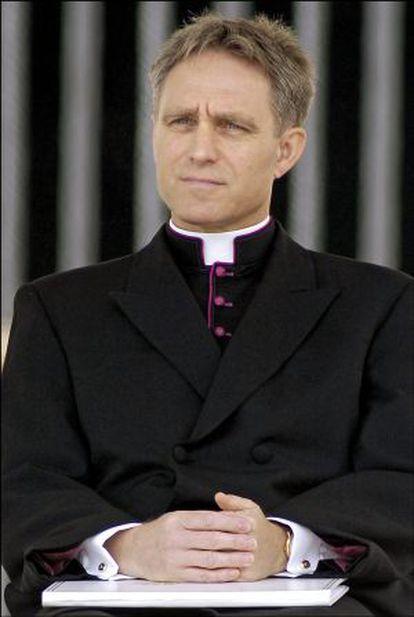 Monseñor Georg Gänswein.