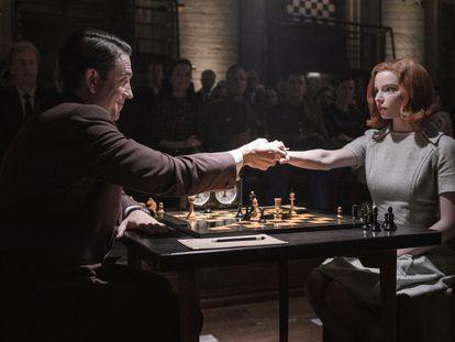 Una imagen de la serie 'Gambito de dama'.