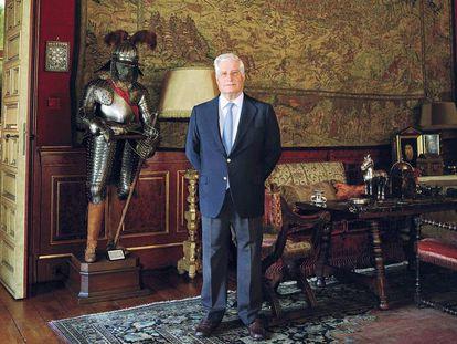 Cita en el palacio de Liria con el duque de Alba