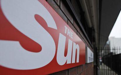 Sede del diario 'The Sun' en Wapping (Londres).