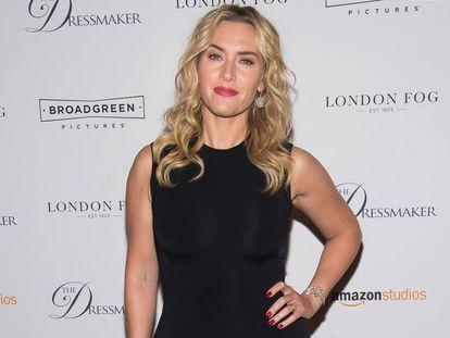 La actriz Kate Winslet en Nueva York, en 2016.
