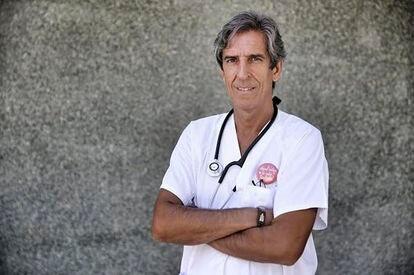 El nuevo presidente del Colegio de Médicos de Madrid, Miguel Ángel Sánchez Chillón.