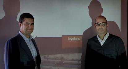 Ignacio Teyo (izquierda) y Francesc Rifé, en la presentación del proyecto.