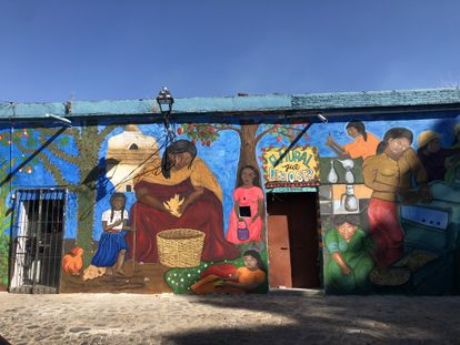 'El mural que debió ser', en Oaxaca de Juárez.