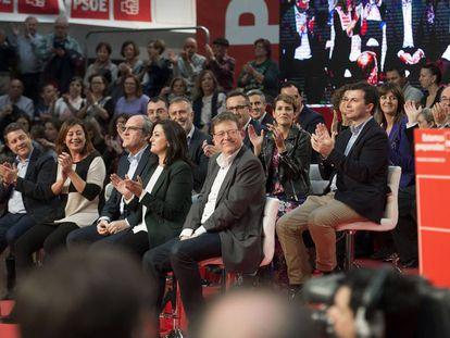 Comité Federal PSOE en Madrid, el 10 de noviembre de 2018.