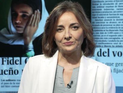 Pepa Bueno, directora de EL PAÍS, se dirige a los lectores.