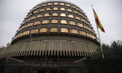 Fachada exteior del Tribunal Constitucional