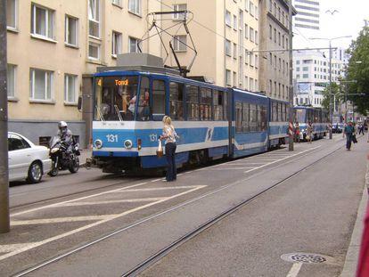 Tranvías gratuitos para los residentes de Tallin