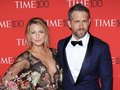 Los actores Blake Lively y Ryan Reynolds el pasado mes de abril.
