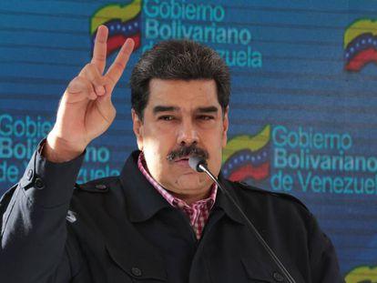 Nicolás Maduro este domingo.