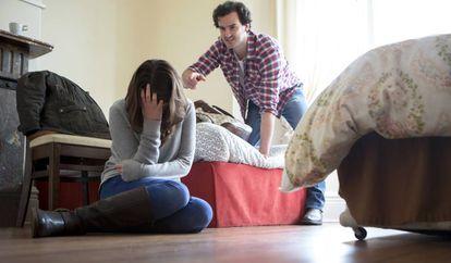 El maltrato psicológico es difícil de detectar.