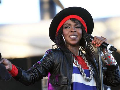 Lauryn Hill, en una foto de 2011