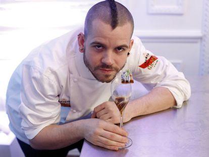 El chef David Muñoz, en su restaurante DiverXO.