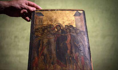 Cuadro del artista florentino Cimabue, descubierto en una casa al norte de París en 2019.